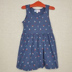 Red White & Blue Popsicles & Watermelon Dress